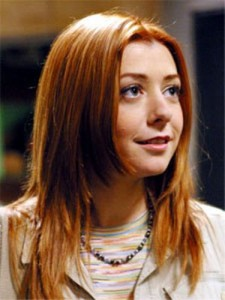 buffy willow alyson hannigan